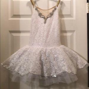 White dance costume